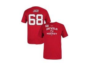 NHL tričko Jaromír Jágr #68 New Jersey Devils Center Ice