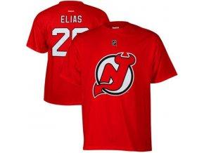 NHL tričko Patrik Eliáš #26 New Jersey Devils NHLPA - červené