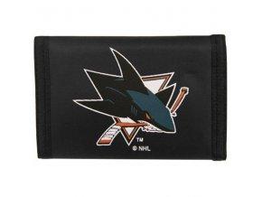 Peněženka - Nylon Trifold - San Jose Sharks