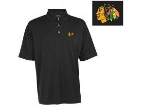 Polo - Exceed - Chicago Blackhawks - černé