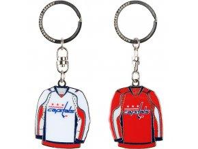 Přívěšek - Jersey - Washington Capitals - 2 kusy