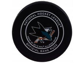 Puk San Jose Sharks Official Game Puck