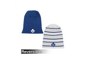 Reebok toronto maple leafs  Faceoff Long Reversible Knit Hat