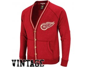 Svetr - Linesmen Cardigan - Detroit Red Wings