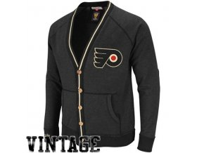 Svetr - Linesmen Cardigan - Philadelphia Flyers