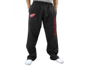 Tepláky Detroit Red Wings Two Hit Fleece Pants - černé
