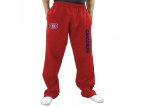 Tepláky Montreal Canadiens Two Hit Fleece Pants - červené