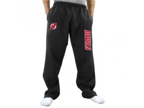 Tepláky New Jersey Devils Two Hit Fleece Pants - černé
