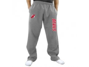 Tepláky New Jersey Devils Two Hit Fleece Pants - šedé