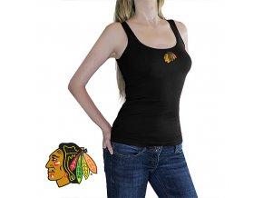 Top - Tank - Chicago Blackhawks - černé