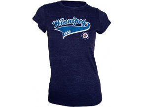 Top - Women's Ribbon Triblend - Winnipeg Jets