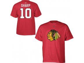 Tričko - #10 - Patrick Sharp - Chicago BLackhawks
