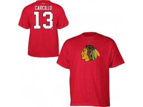 Tričko - #13 - Dan Carcillo - Chicago Blackhawks