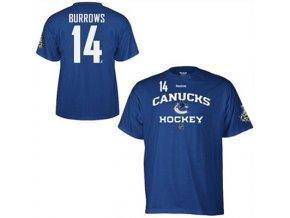 Tričko - #14 - Alex Burrows  Vancouver Canucks 2011 Stanley Cup Final