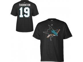 Tričko - #19 - Joe Thornton - San Jose Sharks