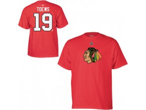 Tričko - #19 - Jonathan Toews - Chicago Blackhawks
