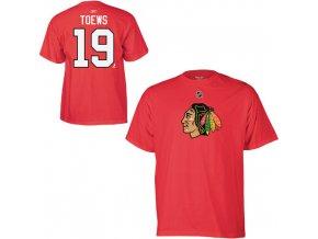 Tričko - #19 - Jonathan Toews - Chicago Blackhawks - dětské