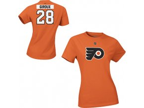 Tričko - #28 - Claude Giroux - Philadelphia Flyers - dámské