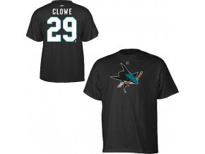 Tričko - #29 - Ryane Clowe - San Jose Sharks