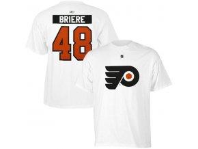 Tričko - #48 - Danny Briere - Philadelphia Flyers - bílé