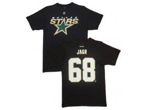 Tričko - #68 - Jaromir Jagr - Dallas Stars - Primary Logo II.