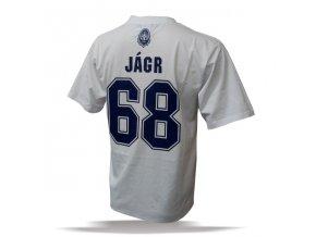 Tričko - #68 - Jaromir Jagr - Rytíři Kladno - bílé
