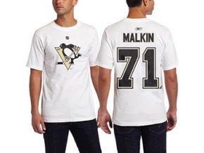 Tričko - #71 - Evgeni Malkin - Pittsburgh Penguins - bílé