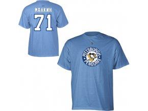 Tričko - #71 - Evgeni Malkin - Pittsburgh Penguins - modré