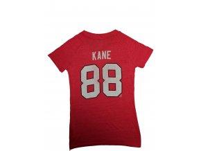 Tričko - #88 Patrick Kane - Chicago Blackhawks - dámské