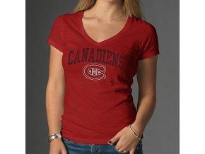 Tričko - Arch Scrum - Montreal Canadiens - dámské