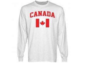 Tričko - Canada Flag - dlouhý rukáv