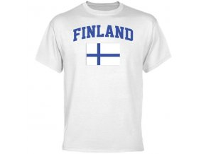 Tričko - Finland Flag