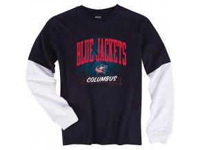 Tričko - Layer - Columbus Blue Jackets - dětské