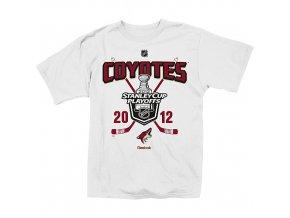 Tričko - Arizona Coyotes (Phoenix Coyotes) White Playoffs
