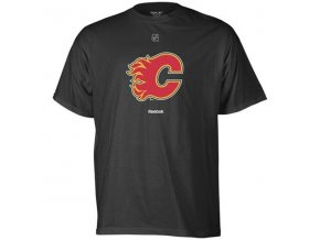 Tričko - Primary Logo - Calgary Flames - černé