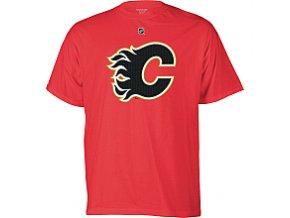 Tričko - Primary Logo - Calgary Flames - červené