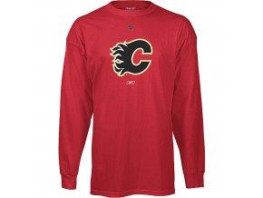 Tričko - Primary Logo - Calgary Flames - dlouhý rukáv
