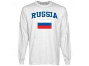 Tričko - Russia Flag - dlouhý rukáv