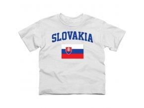 Tričko - Slovakia Flag - dětské
