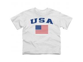 Tričko - USA Flag - dětské