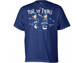 "Tričko - Vancouver Canucks ""Fear the Twins"""