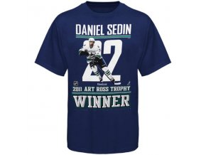 Tričko - Vancouver Canucks Daniel Sedin 2011 Art Ross Trophy Winner