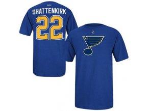 Tričko -# 22 Kevin Shattenkirk St. Louis Blues - modré