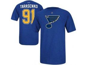 Tričko -# 91 Vladimir Tarasenko St. Louis Blues - modré