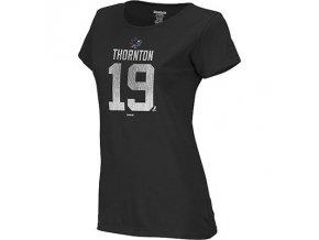Tričko #19 Joe Thornton San Jose Sharks - dámské