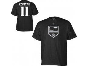 Tričko Anze Kopitar #11 Los Angeles Kings Third Logo