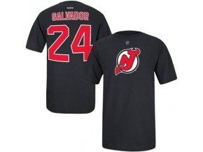Tričko Bryce Salvador #24 New Jersey Devils - černé
