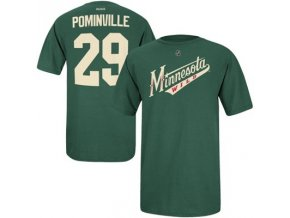 Tričko Jason Pominville #29 Minnesota Wild Third Logo