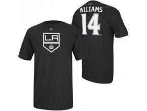 Tričko Justin Williams #14 Los Angeles Kings Third Logo