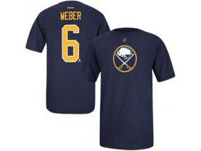 Tričko Mike Weber #6 Buffalo Sabres
